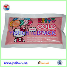 Medical ice pack cute animal painted for baby