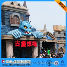 Amazing amusement rides Hunting ghost rides for sale drak rides