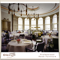 Restaurant round dining tables and chairs
