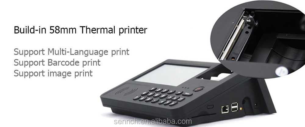 All-in-one Tablet Pos With Android System Terminal Support ...