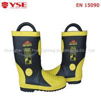 Fireman work wear,heated work boots