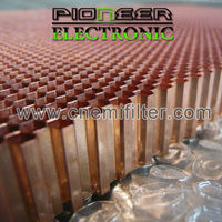 steel Honeycomb filter 600x900mm, EMI chamber gas material in honeycombs