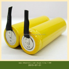 High quality AA 800MAH 2.4V / industrial battery pack supplier