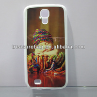 HOT blank sublimation phone case for samsung S4 with aluminum sheet