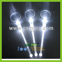 Glow White Plastic Swizzle Sticks for Bar