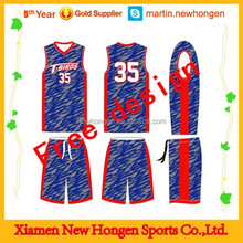 Hot Sell Cheap League Youth Basketball Uniform