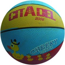 mini rubber basketball/ colourful basket ball