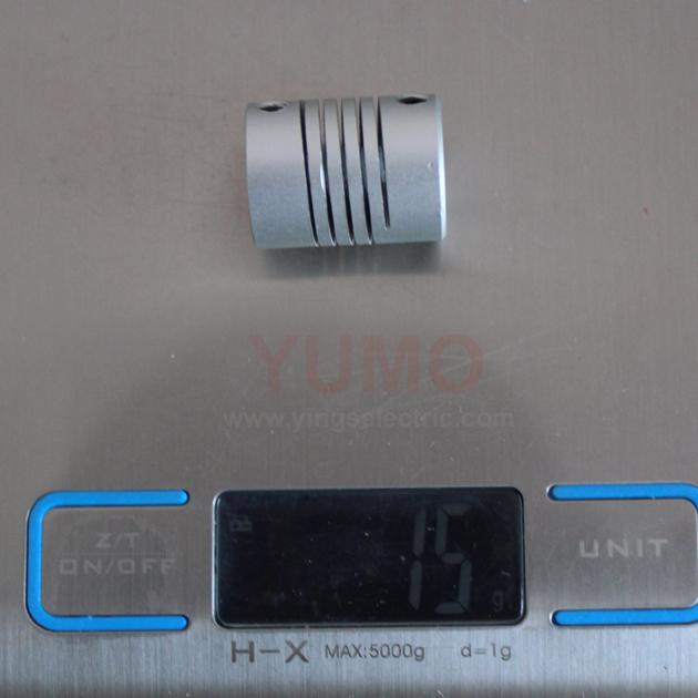 YUMO (LR D20 L25 6X6) Flexible Coupling Winding Motor Encoder Coupling