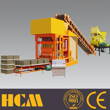 top selling products 2013 QTJ4-25 manual used block machine price