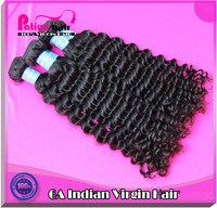 Fashionable and delicate packaging for virgin indian curly hair extensions