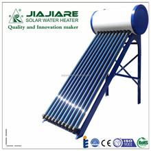 100L compacto alta presión tubo de calor de cobre calentador de agua solar, conveniente para 2-3 miembros