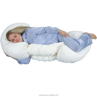 Wholesale Cheap J Shape Cotton Pregnant Body Pillows