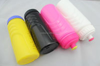 600ml BPA Free plastic sports water bottle for camping
