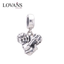 Wholesale Charms Menino Com Bola Little Boy Menino Ball 925 Silver Beads