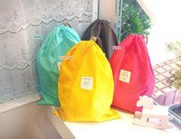 Best Selling Fashionable And Convenient Colorful Nylon Waterproof Clothing Drawstring Storage Bag