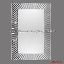 media pared plateada JYC-006 espejo colgado del espejo