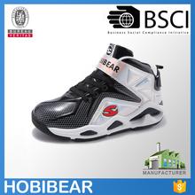 HOBIBEAR size 33-40 fashion durable child sport shoe boys brand basketball shoe boots