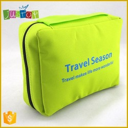 2015 hot sale hanging toiletry bag foldable