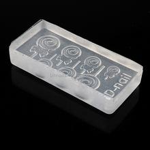 DIY 3D Silicone Nail Art Decortive Acrylic Cabochon Mold