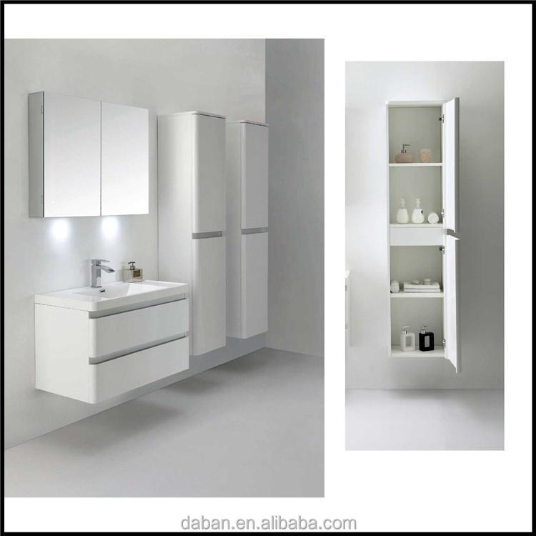 Gabinetes de baño delgado conjunto venta al por mayor modular muebles