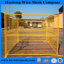 Popular type 25x25mm tube temporary portable fence