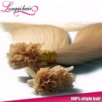 100% india remy U tip hair extension