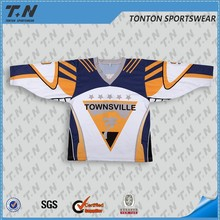 2016 Canada season sublimated hockey uniform professional factory