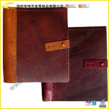 2015 handmade genuine binder for executive
