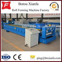 Aluminium Cold Steel Coil Roofing Glazed Metal Tile Roll Forming Machine