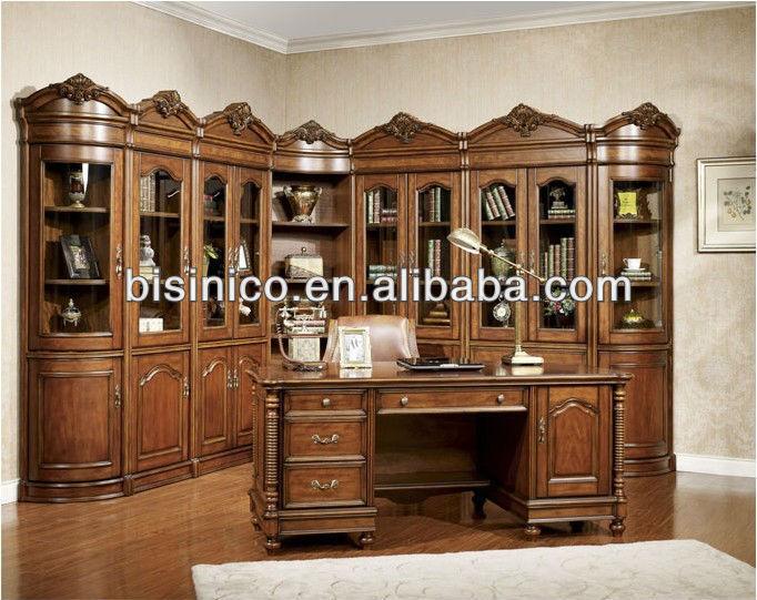 Paese in stile americano di legno tavolo da studio in - Mobili stile americano ...
