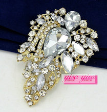 fashionable manufacturing rhinestone jewelry brooches