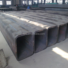 erw welded black square pipe/steel pipe china supplier 45