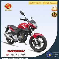 Hot Selling Street Legal Motorcycle 300cc 4Stroke Street Motorcycle Racing Bike SD300II