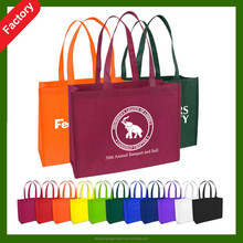 custom non-woven custom imprinted tote bag