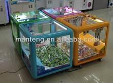 Magic doll cube crane machine,plush toy game machine,crane toy gift machine