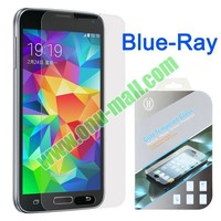 X-MAX 2.5D 9H Anti Blue Ray Tempered Glass HD Film Guard Screen Protector for Samsung Galaxy S5 I9600 G900