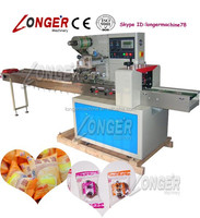 Commercial Hard Candy Packaging Machine Ice Lolly Packing and Wrapping Machine