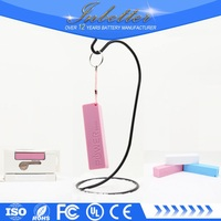 New universal power bank stick micro usb portable battery charger