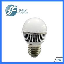 e27 e14 Clear LED Lighting 3W b22 240v milky cover bulb led light