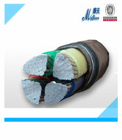 Insulated and sheathed PVC Steel armoured power cable