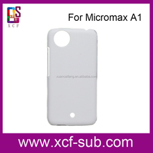 3D Dye Sublimation Cover for Micromax A1, Sublimation 3D Mobile Phone Cover for Micromax A1