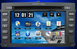DVD player for Ssangyong Rextron