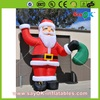 christmas product inflatable christmas santa claus for sale