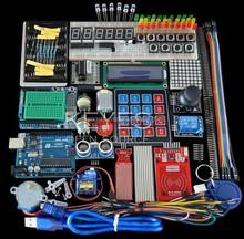 Starter Uno R3 - Uno R3 Breadboard and holder Step Motor 1602 LCD jumper Wire UNO R3