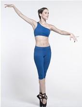 Custom make 87% nylon and 13% spandex women gym wear, Cottony-soft seamless women dance wear