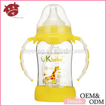 2015 Baby Products BPA Free Glass/PP/Silicone/PPSU Baby Bottle Manufacturer