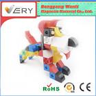 2015 novo estilo de crianças quebra-cabeça de plástico cubo Playing blocos populares magblock brinquedo Diy