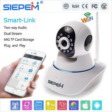 Low price hot sell 720p hd wi-fi pan tilt ip camera/720p indoor ir ip camera/NTP 720p ip camera vandal