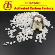 White corundum/fused alumina for surface finish and glass processing