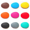 Food grade silicone chewing pendant jewelry and amber teething necklaces